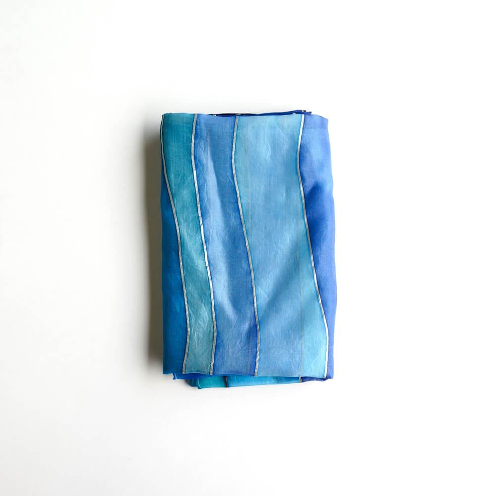 Melanie Decourcey/Silk Scarves/Rectangle XXI