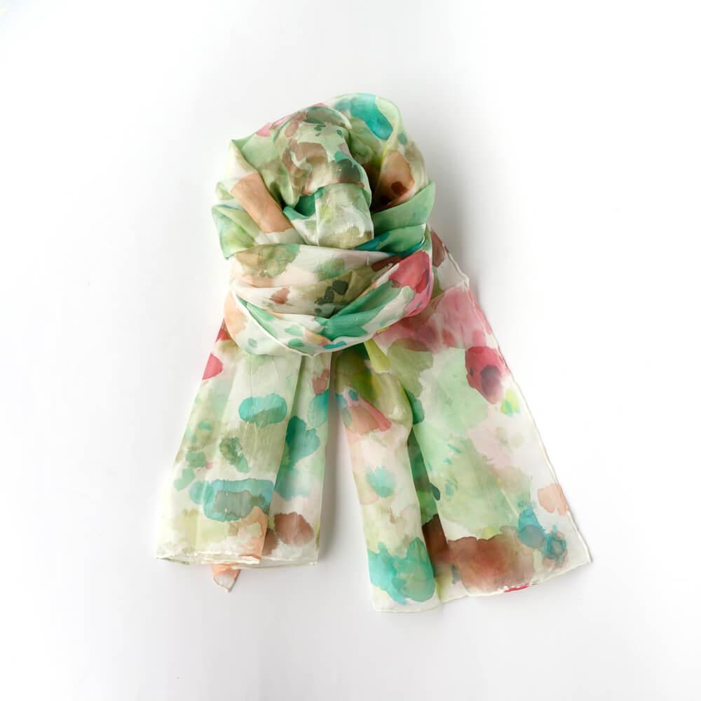 Melanie Decourcey/Silk Scarves/Long III