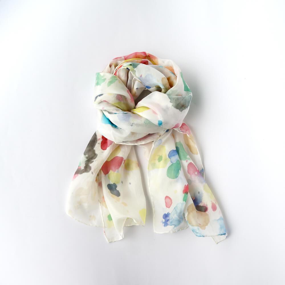 Melanie Decourcey/Silk Scarves/Long II