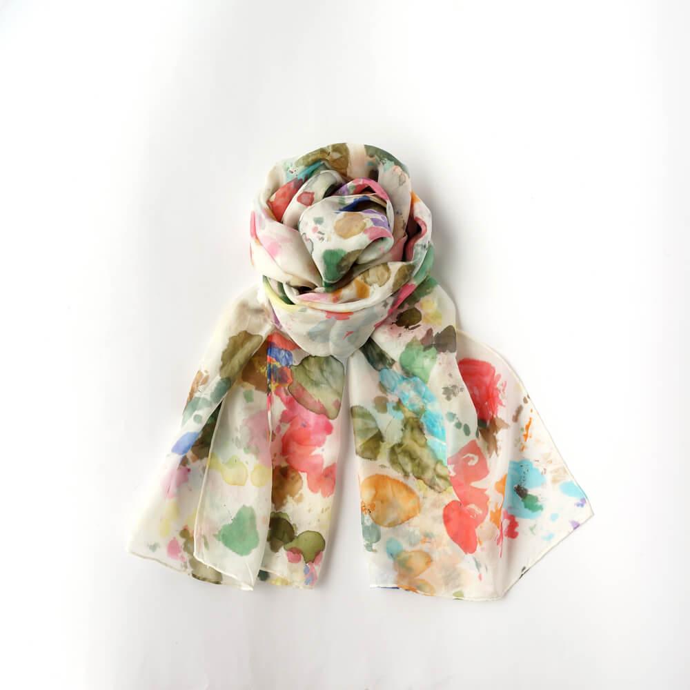 Melanie Decourcey/Silk Scarves/Long I