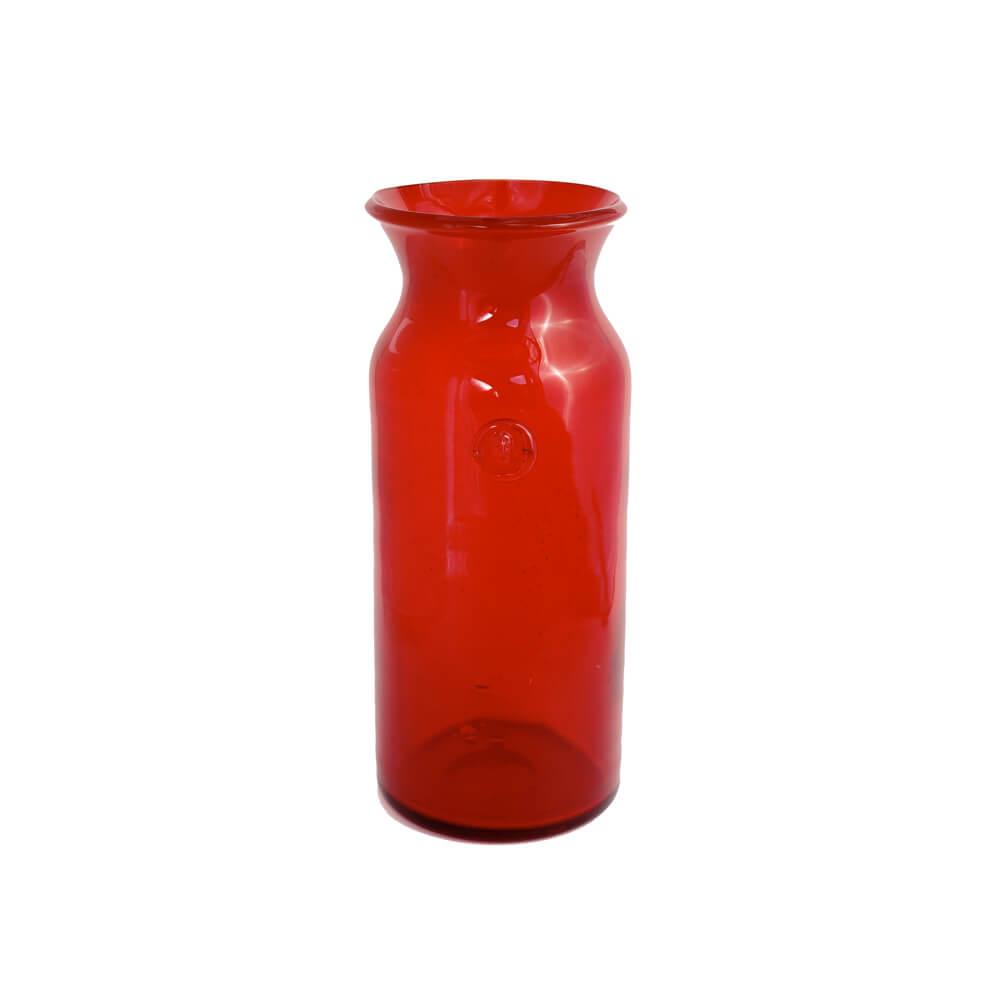 Erik Hoglund / HAND MADE Vase/ L /Red