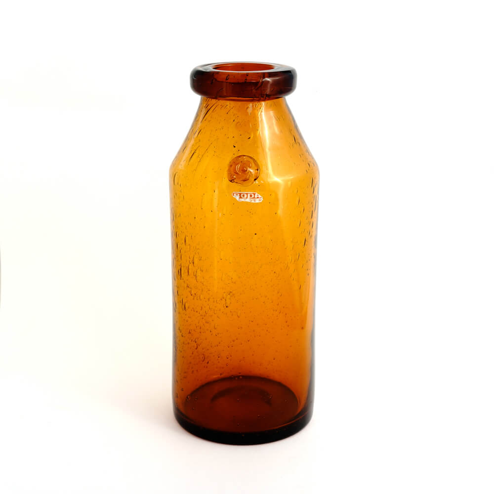 Erik Hoglund / HAND MADE Vase/Amber