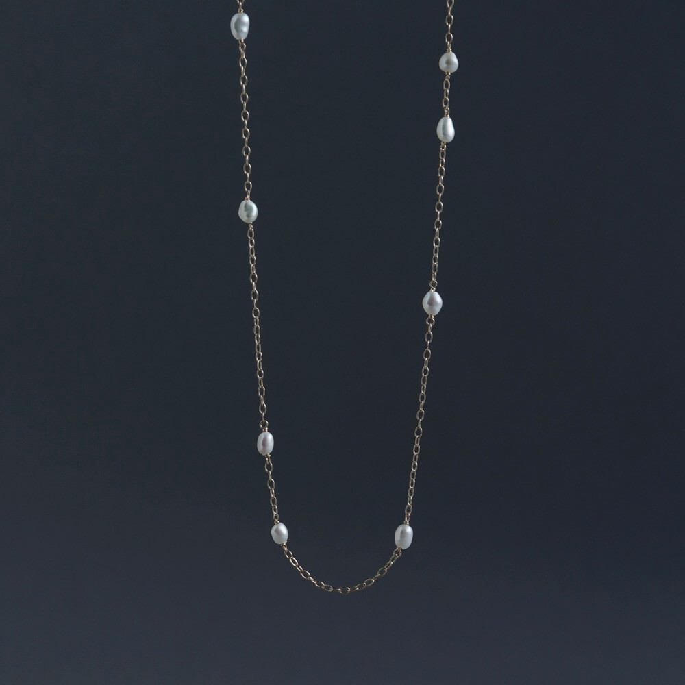 SOURCE objects/Random Keshi Pearl Necklace/LONG