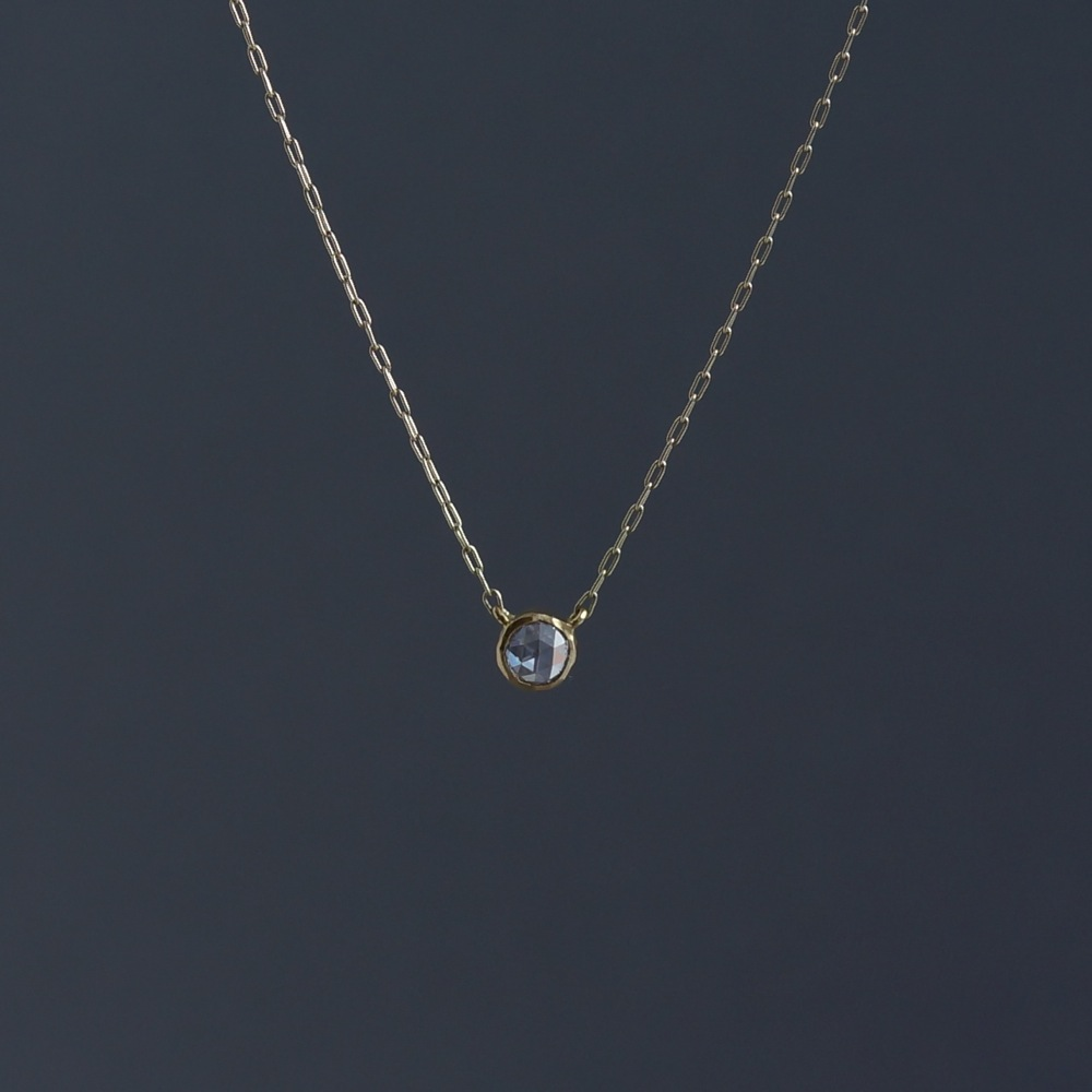 SOURCE objects/4mm Rosecut Diamond Necklace