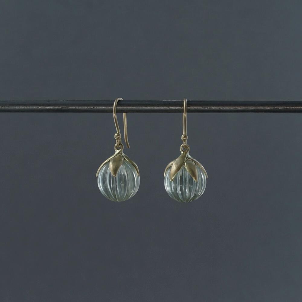 SOURCE objects/Berry Earrings/Green Amethyst