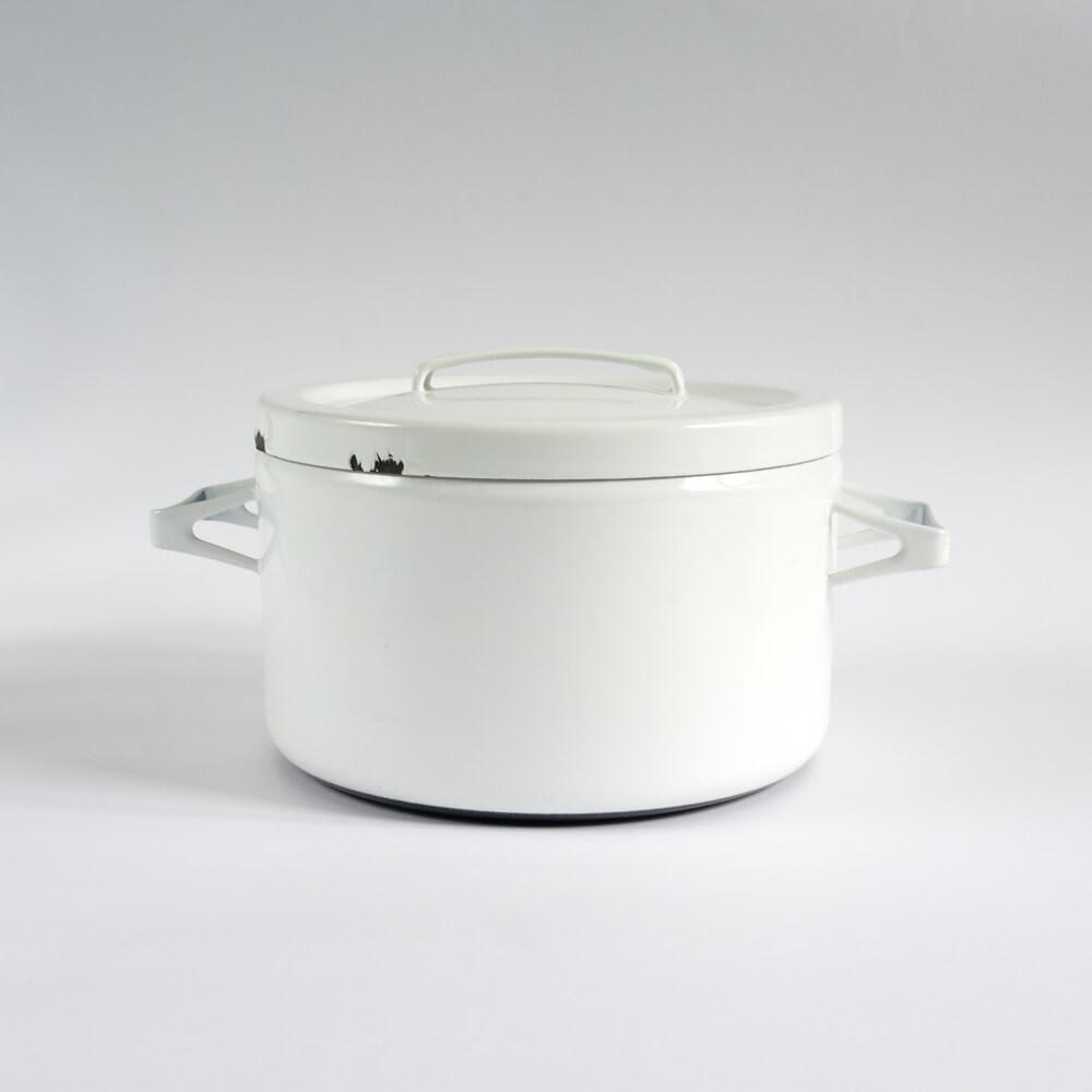 Seppo Mallat / FINEL /両手鍋/White(L)φ21
