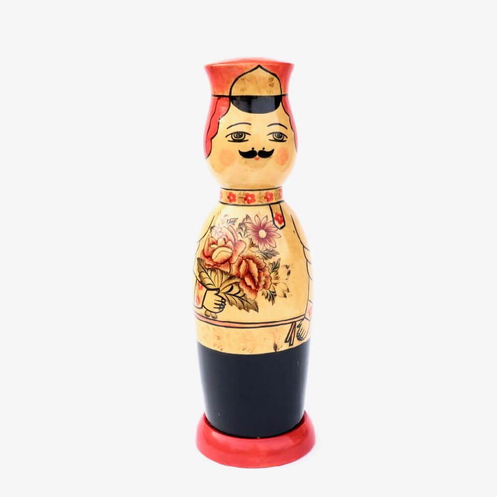 Wooden bottle cover / M / 男性