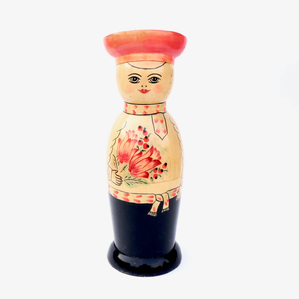 Wooden bottle cover / L / 男性