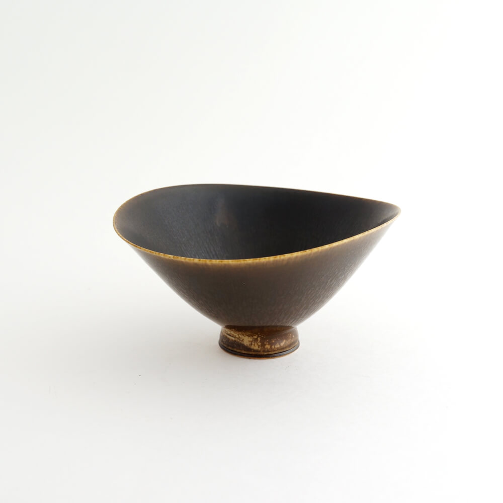 Berndt Friberg / Gustavsberg / Bowl / Dark Brown