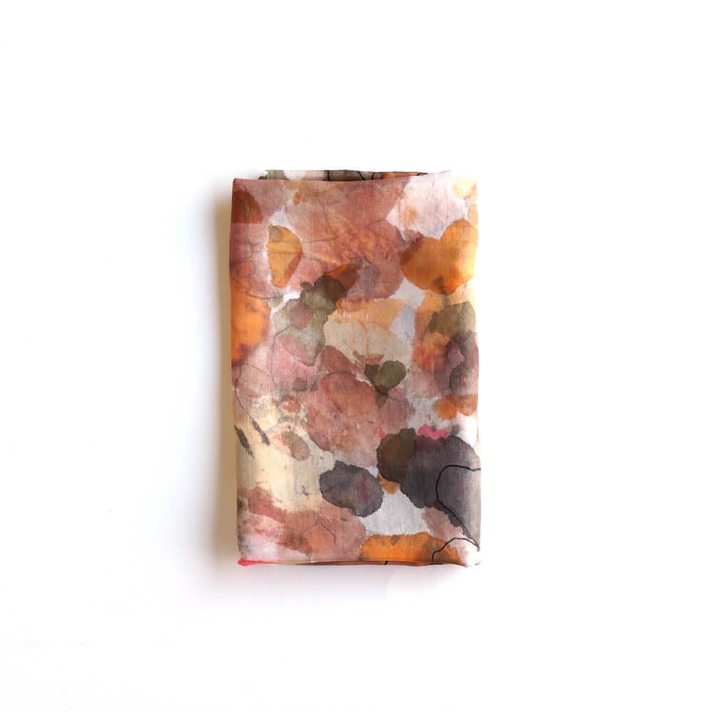 Melanie Decourcey/Silk Scarves/Rectangle XXV