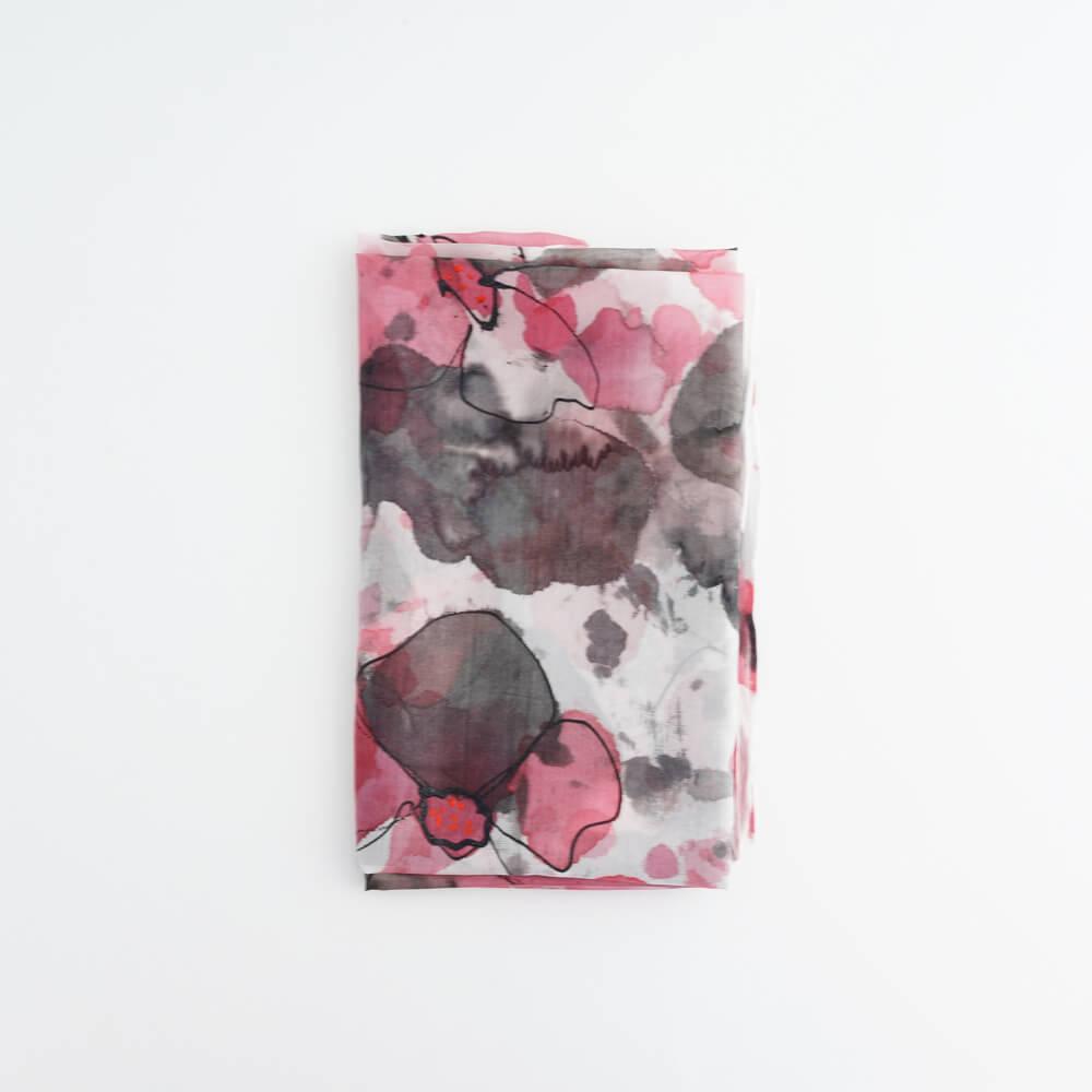Melanie Decourcey/Silk Scarves/Rectangle XXIII