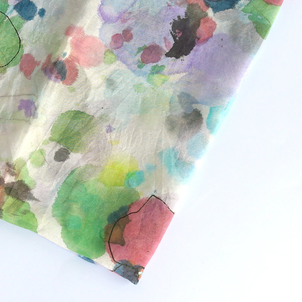 Melanie Decourcey/Silk Scarves/Square IV