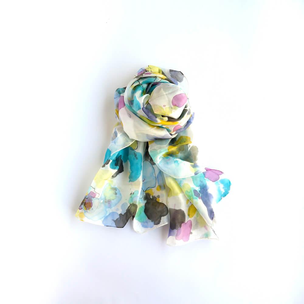 Melanie Decourcey/Silk Scarves/Long V