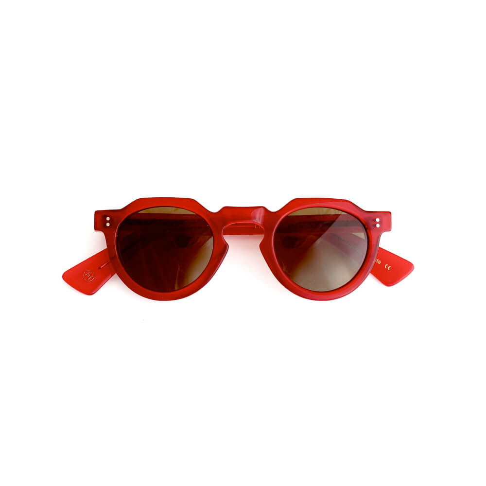 LESCA LUNETIER/Upcycling Acetate Collection/CROWN PANTO 8mm col.4