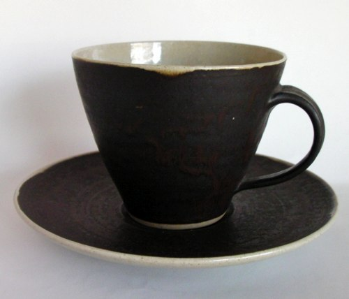 Lucie Rie/Coffee Cup&Saucer