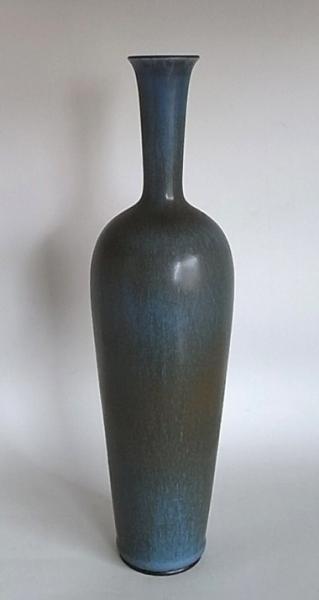 Berndt Friberg/ Vase (L)/ Blue
