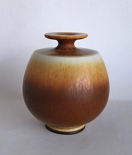 Berndt Friberg/Vase(M)Brown