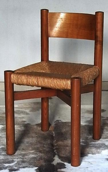 Charlotte Perriand/Dinning Chair (natural)