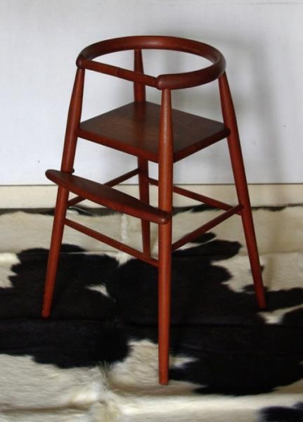 Nanna&Jorgen Ditzel / Children's Highchair_teak