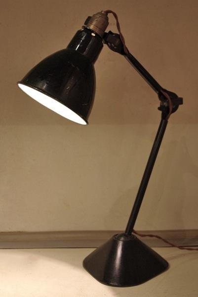Gras Ravel / Lamp Model 205 / black