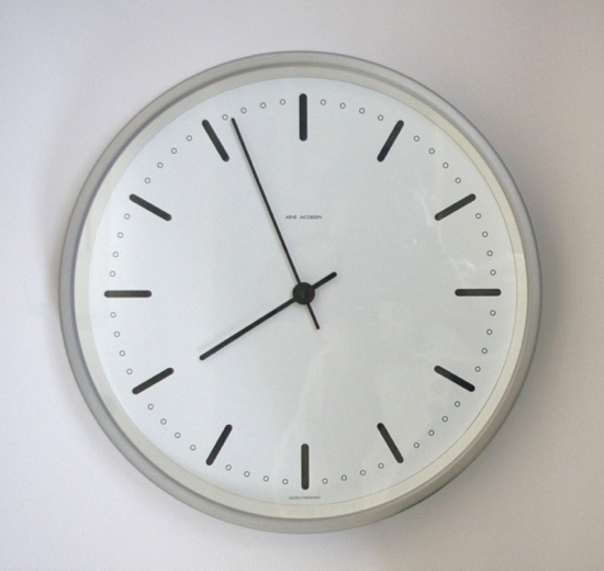 Arne Jacobsen City Hall Clock/produced by George Christensen