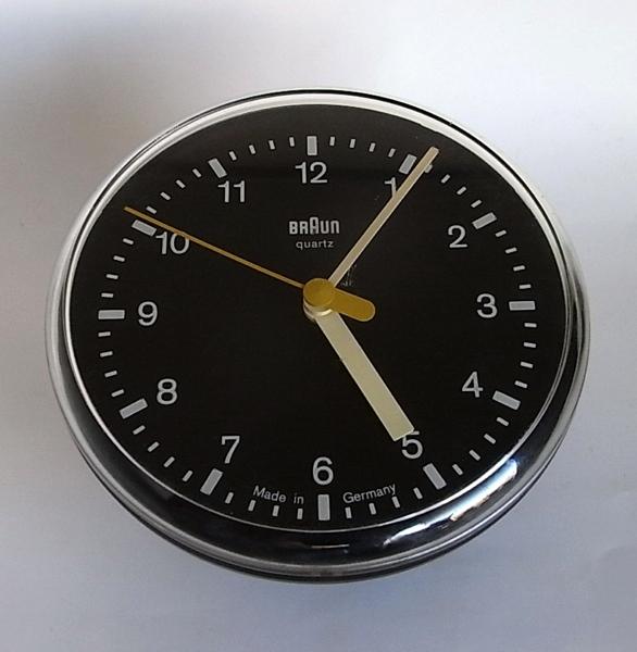 Dietrich Lubs / BRAUN / Wall clock