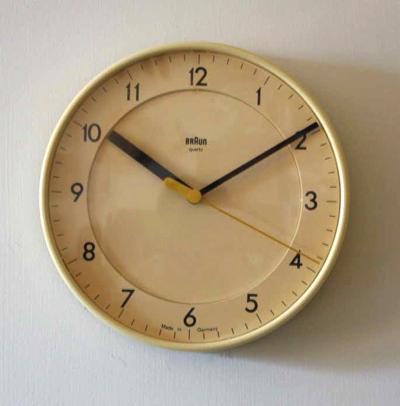 Dietrich Lubs / BRAUN / Wall clock ABK31