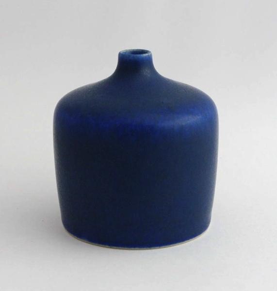 PALSHUS/DENMARK/ vase(M)#1110_Blue