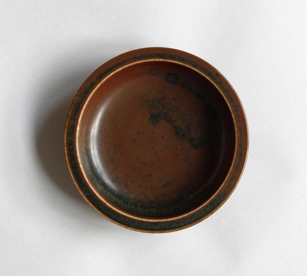 SAXBO/shallow dish/Brown