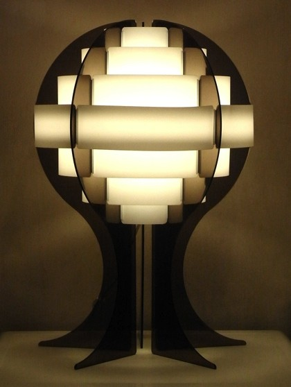 Anonymous/Denmark Table Lamp/Brown