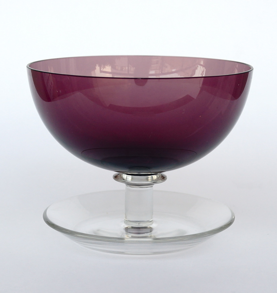 Saara Hopea/Nuutajarvi/Ice cream bowl 1344 /Purple