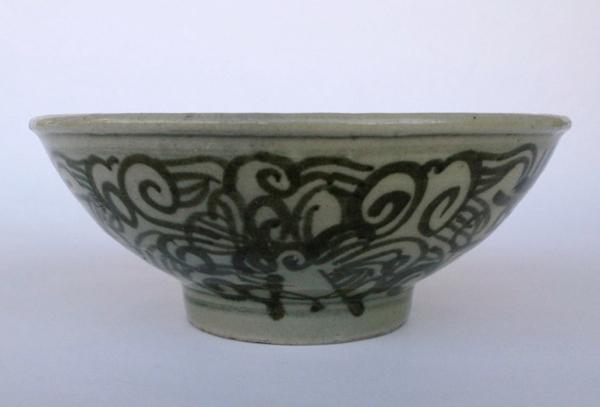 中国明代 / 茶碗 「金」