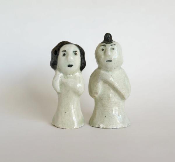 李朝 / 陶器人形