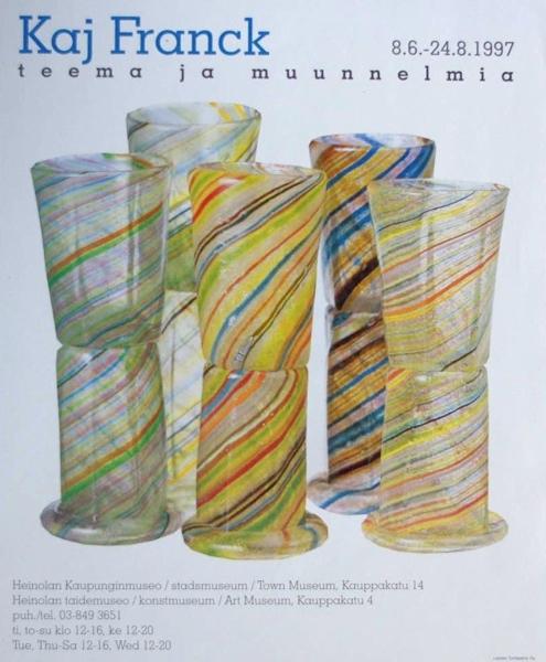 KAJ FRANCK/Exhibition Poster 1997