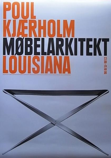 POUL KJAERHOLM MOBELARKITEKT LOUISIANA