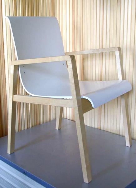 Alvar Aalto/No.403 Hallway Chair /White