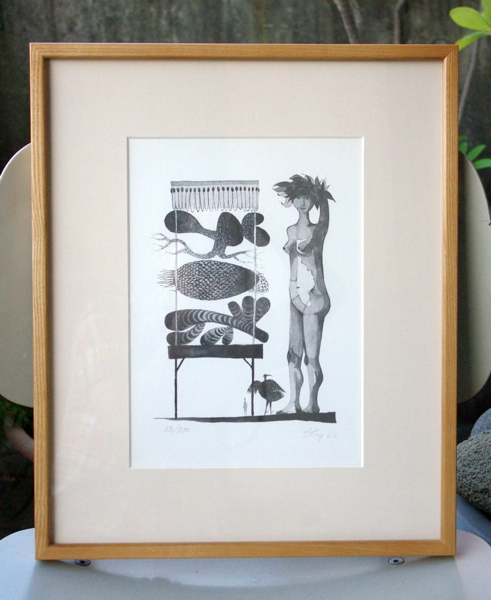 Stig Lindberg / Lithograph(額装)