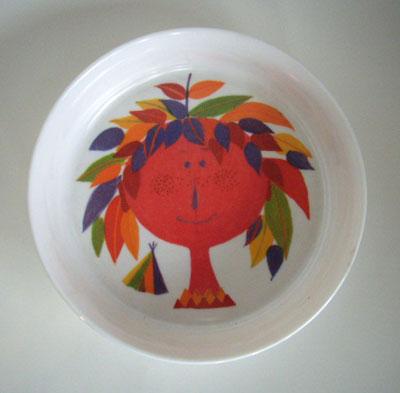 Stig Lindberg/ Plastic Plate
