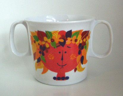 Stig Lindberg/ Plastic Mug