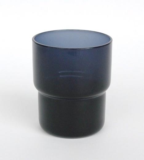 Saara Hopea/Nuutajarvi/ Stacking tumbler#1718 (M)Blue
