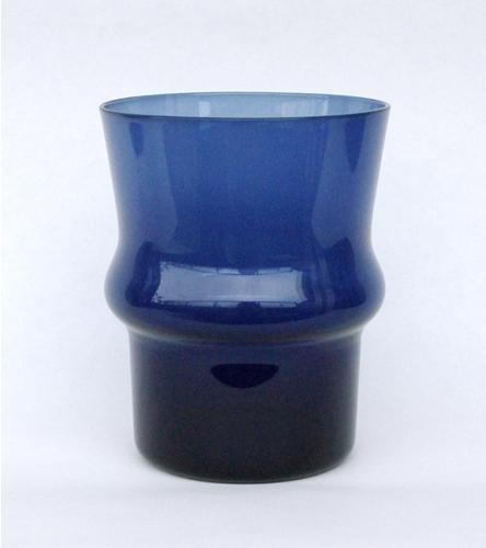 Kaj Franck/ Nuutajarvi/ Tumbler/1709 Blue