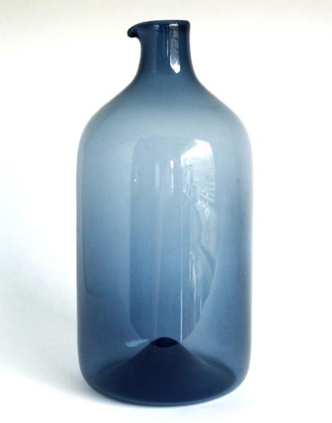 Timo Sarpaneva/ i-400/Bird Bottle (straight) Blue