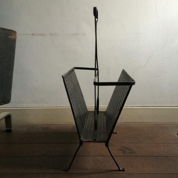 Mathieu Mategot / Magazine Rack(Black)