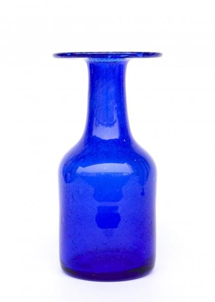 Erik Hoglund/HAND MADE Vase/Blue