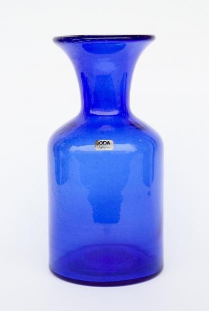 Erik Hoglund/HAND MADE Vase(L)/Blue
