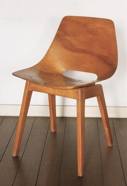 Pierre Guariche /plywood