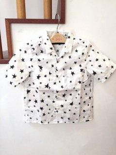 【113】コットンサテンホシPT カイキンS/Sシャツ