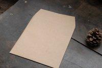 クラフト茶 スクエア封筒 M(6インチ)