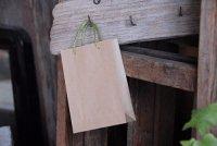 クラフトミニ手提げ袋 14cm (麻紐)