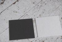 コースター用紙 黒 8cm×8cm 50枚